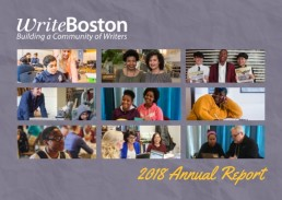 2018 Annual Report WriteBoston