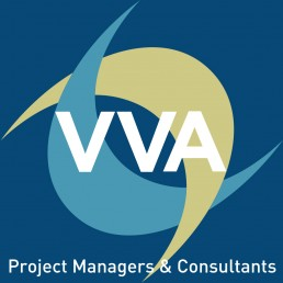 VVA Project Managers and Consultants Logo Blue