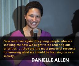 Danielle Allen Panel Quote