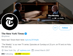 new york times twitter