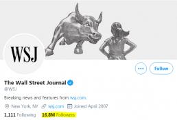 wall street journal twitter