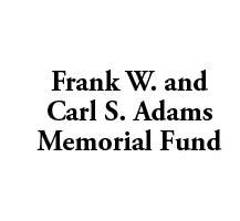 frank w and carl s adams memorial fund logo