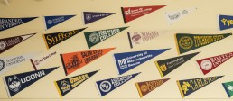 college pennants