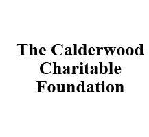 calderwood charitable foundation logo