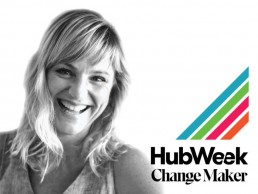 Sarah poulter as hubweek change maker