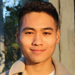 Clinton Nguyen - student smiling