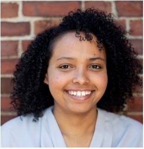 Elebetel Assefa, student smiling