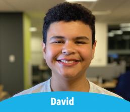 David - Student smilng