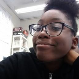 smiling student selfie