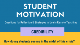 Student Motivation - screenshot of newsletter