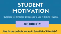 Student Motivation - screenshot of newsletter
