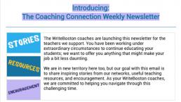 coaching connection screenshot